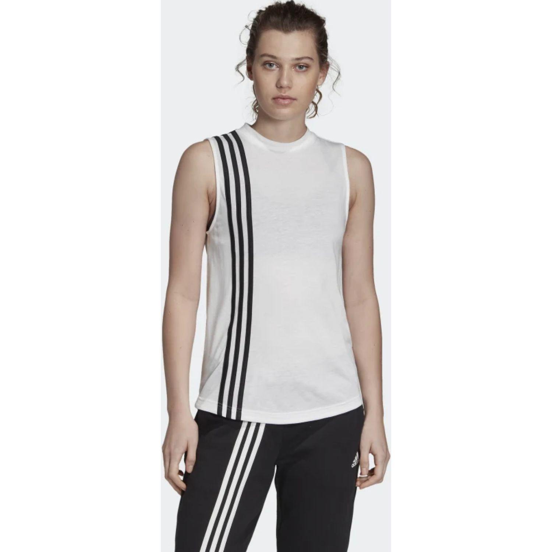 Adidas w mh 3s tank Blanco / negro Tank Tops