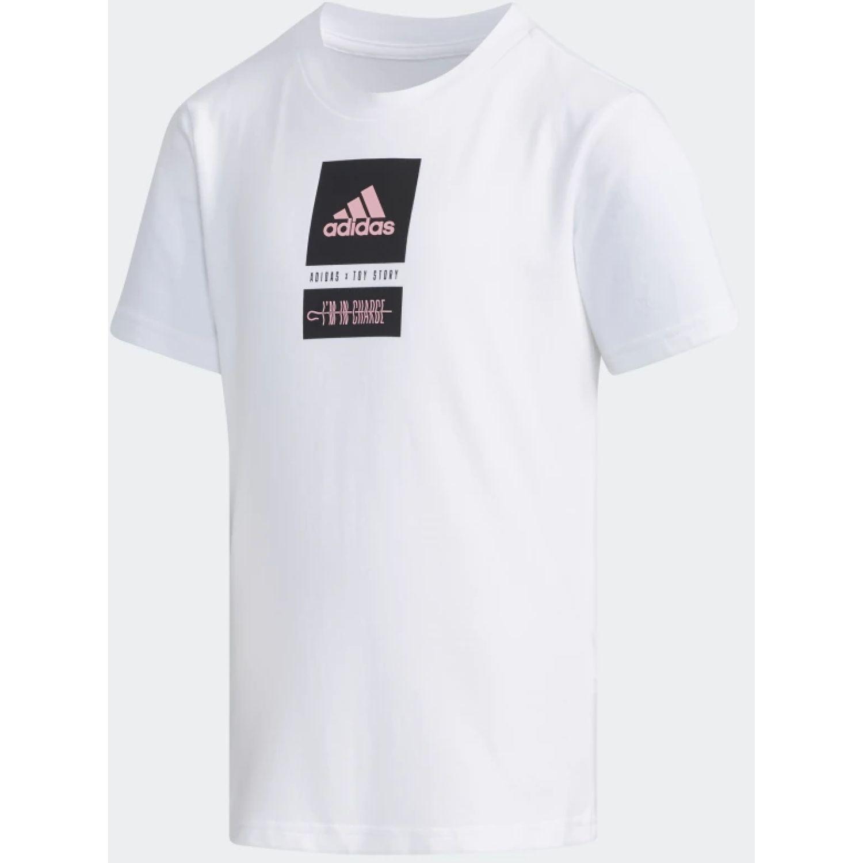 Adidas lg toy story 4 Blanco / negro Polos