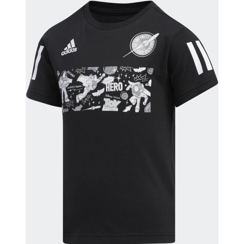 Adidas lb toy story 4 Negro / blanco Camisetas y Polos Deportivos