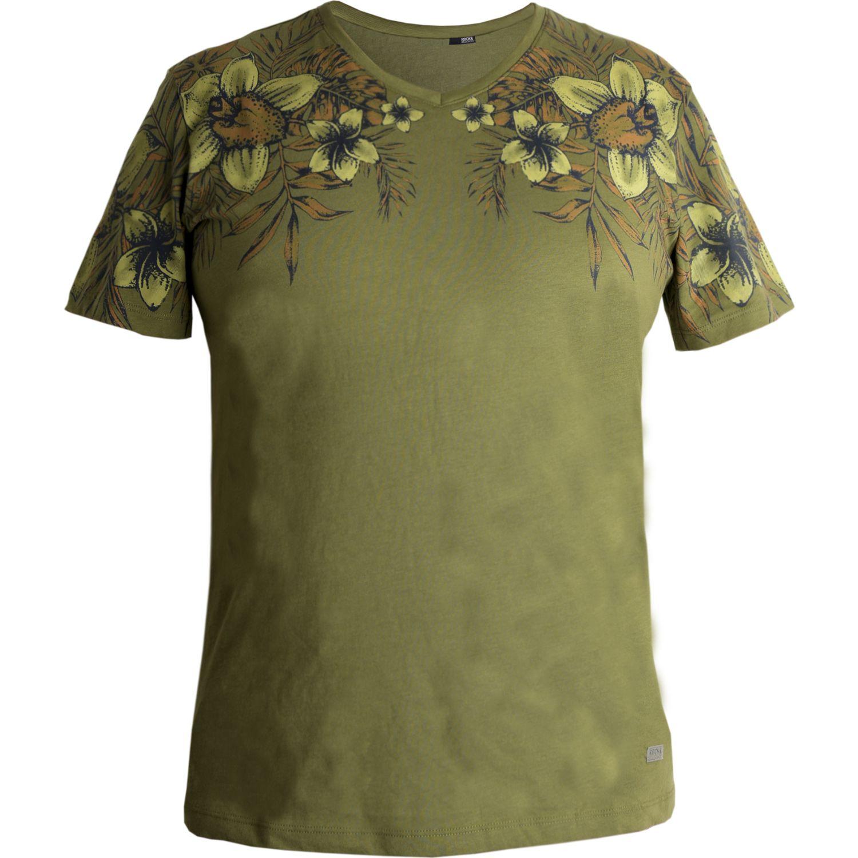 ROCK & RELIGION RAPSAT Verde Camisas de botones