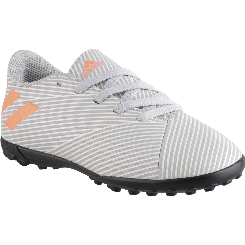 Adidas nemeziz 19.4 tf j Gris / naranja Hombres