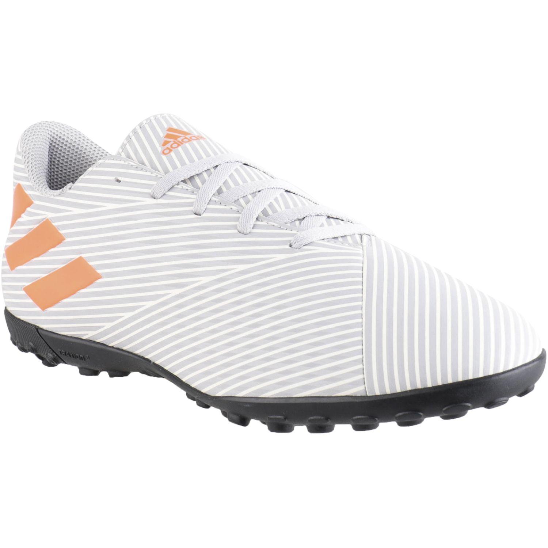 Adidas nemeziz 19.4 tf Gris / naranja Hombres