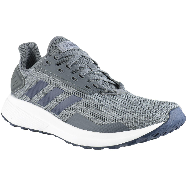 Adidas DURAMO 9 Plomo / azul Running en pista