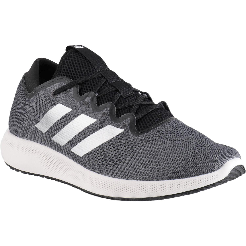 Adidas EDGE FLEX PLOMO / BLANCO Running en pista