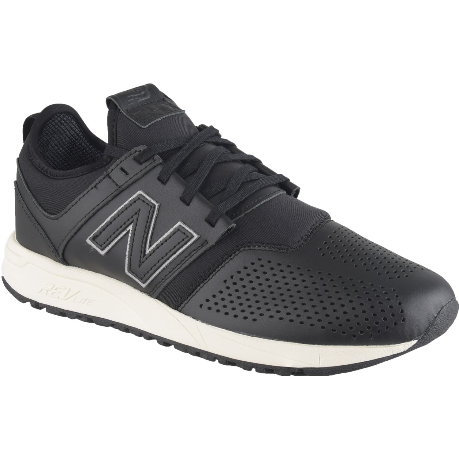 New Balance 247 Negro / blanco Walking