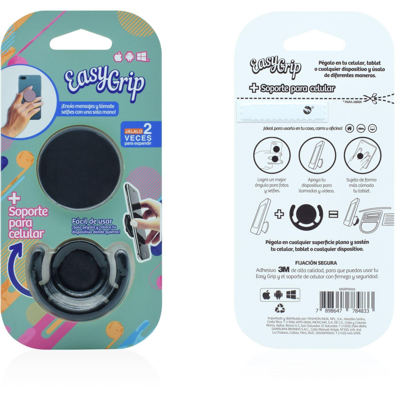 Easy Grip easy grip con soporte mix colores Negro Convertidor digital-analógico convertidores