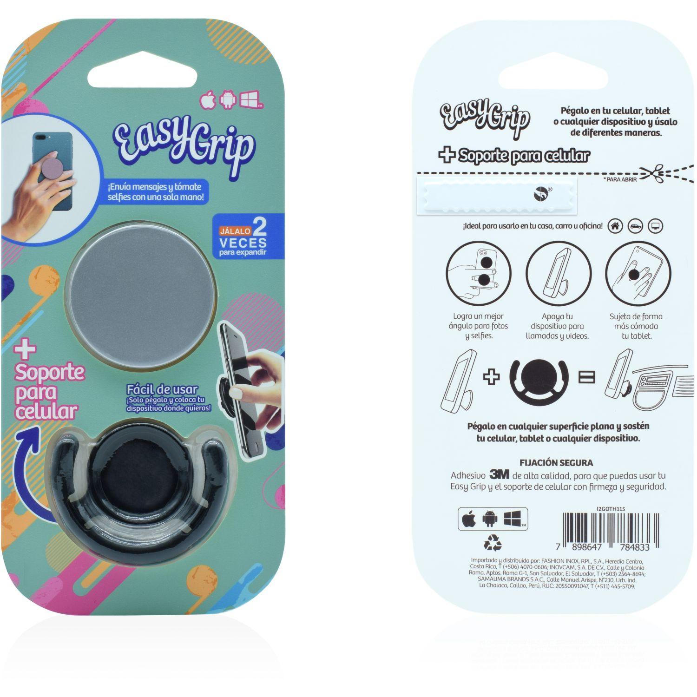 Easy Grip easy grip con soporte mix colores Plateado Convertidor digital-analógico convertidores