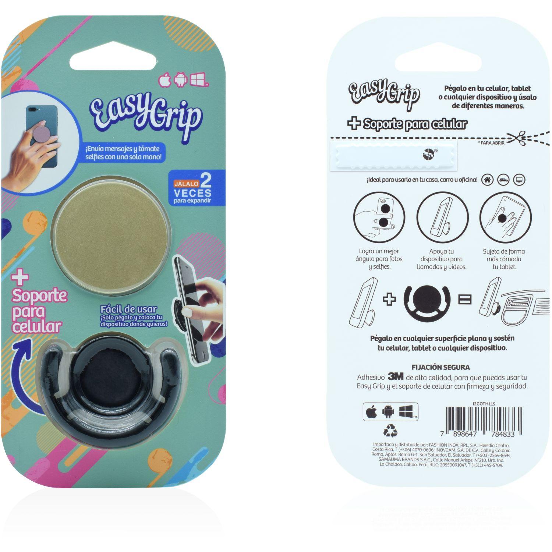Easy Grip Easy Grip Con Soporte Mix Colores Dorado Soportes