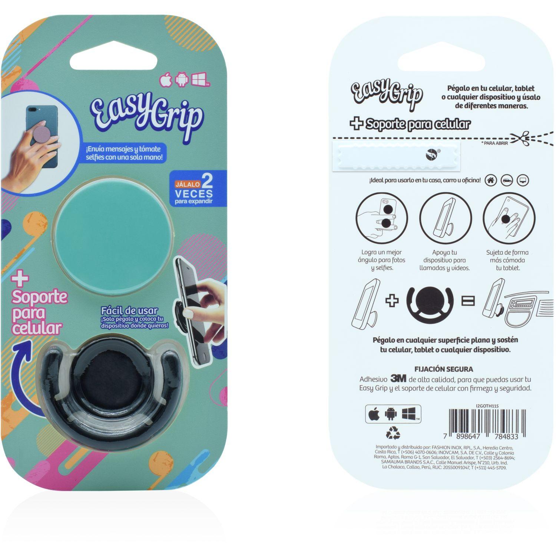 Easy Grip easy grip con soporte mix colores Verde Agua Soportes