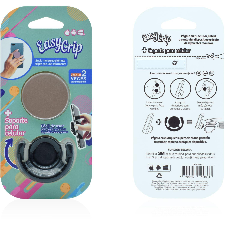 Easy Grip easy grip con soporte mix colores Rosa Metalico Soportes