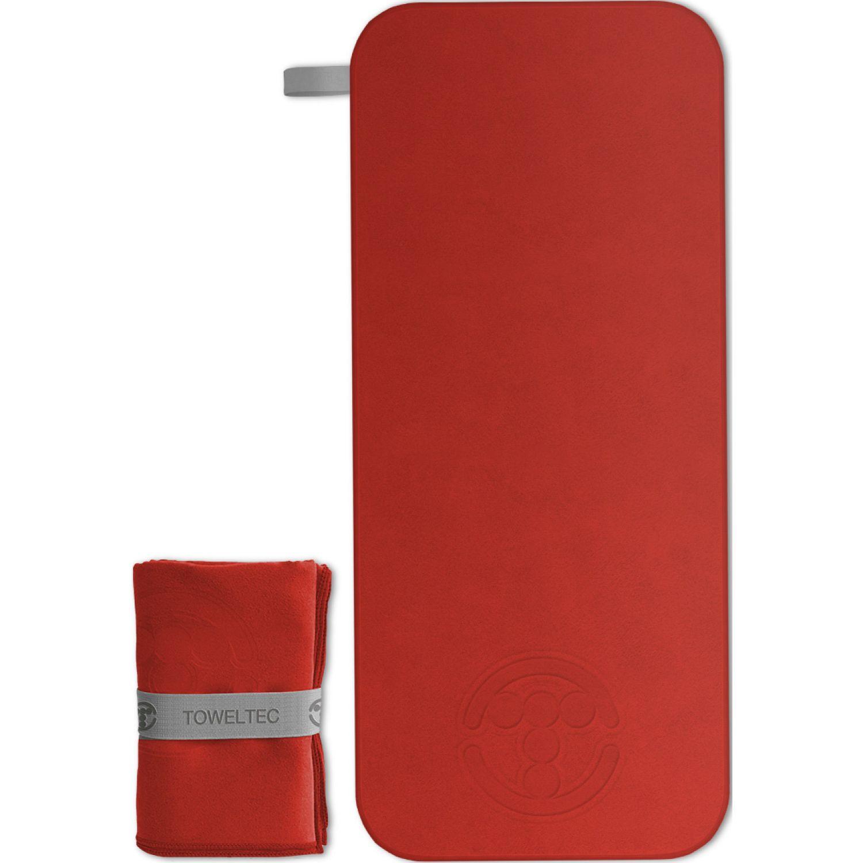 TOWELTEC Toalla Mediana Rojo Rojo Toallas de baño