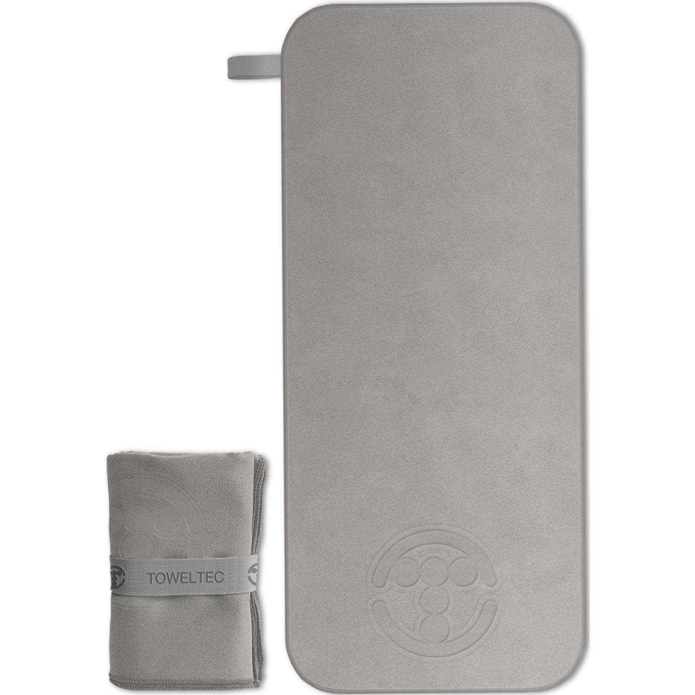 TOWELTEC TOALLA SMALL PLATA Plata Las toallas de baño
