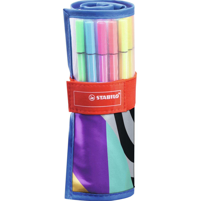 Stabilo pen 68 roller ser x 25 unid Varios bolígrafos