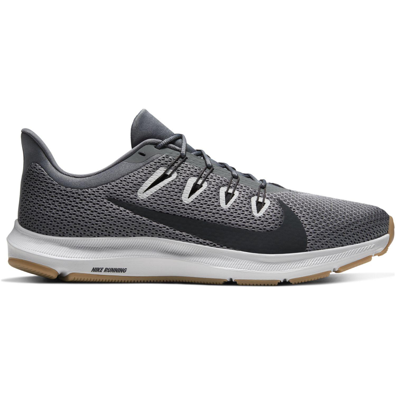 Nike nike quest 2 Plomo / negro Running en pista