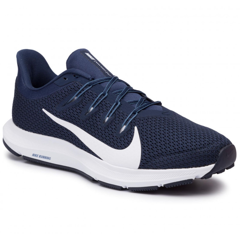 Nike nike quest 2 Navy Running en pista