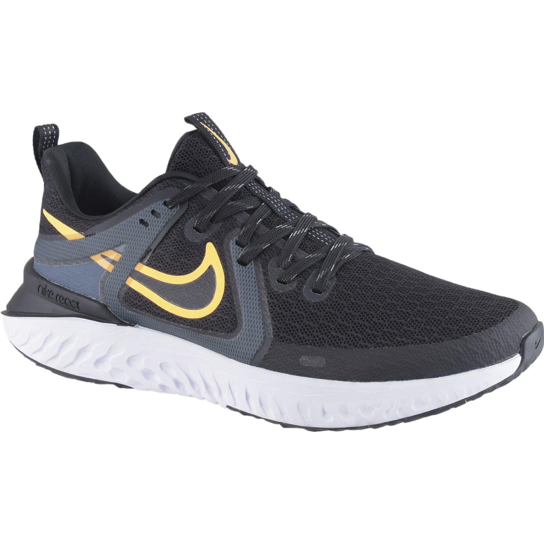 Nike nike legend react 2 Negro / azul Running en pista