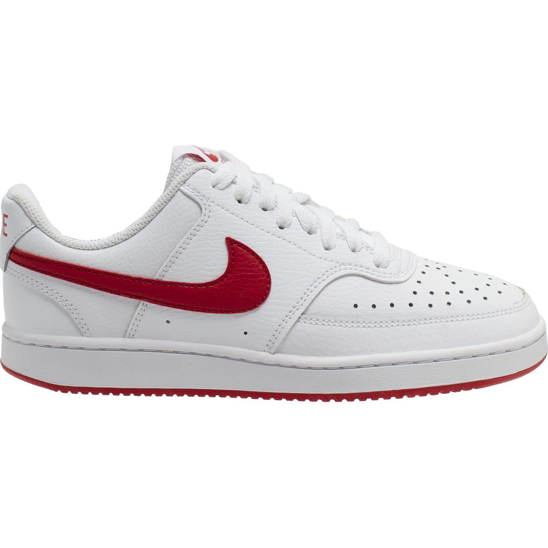 Nike wmns nike court vision lo Blanco / rojo Walking