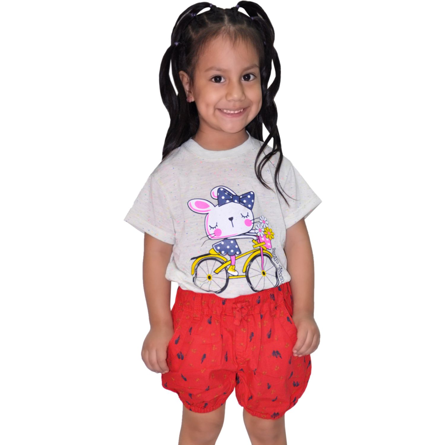COTTONS JEANS Pily Rojo Shorts