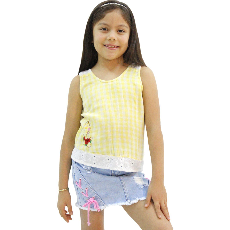 COTTONS JEANS Sara Amarillo Blusas y camisas de botones