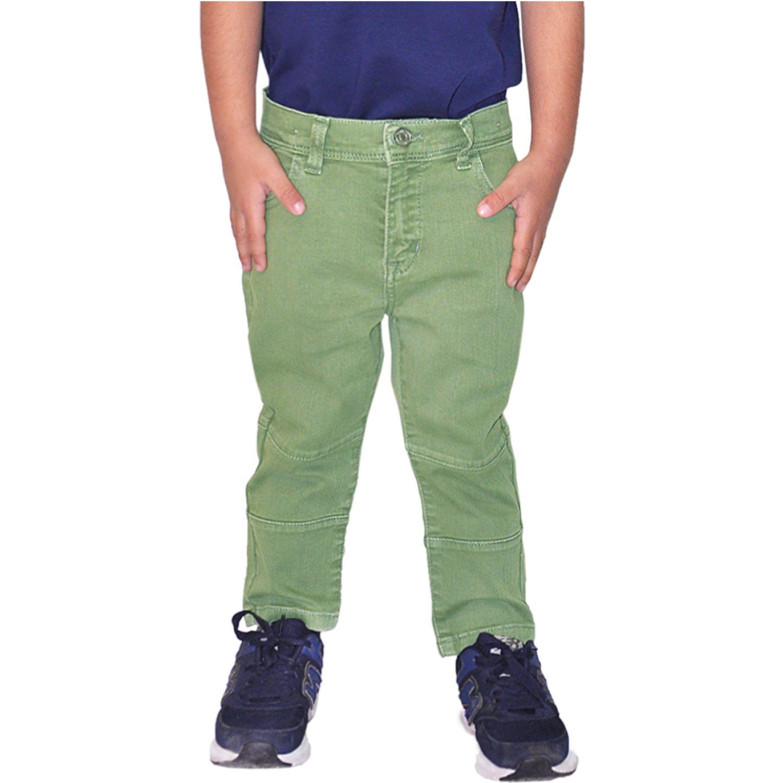 COTTONS JEANS Mateus Verde Pantalones