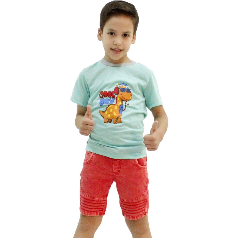 COTTONS JEANS Arturo Rojo Shorts