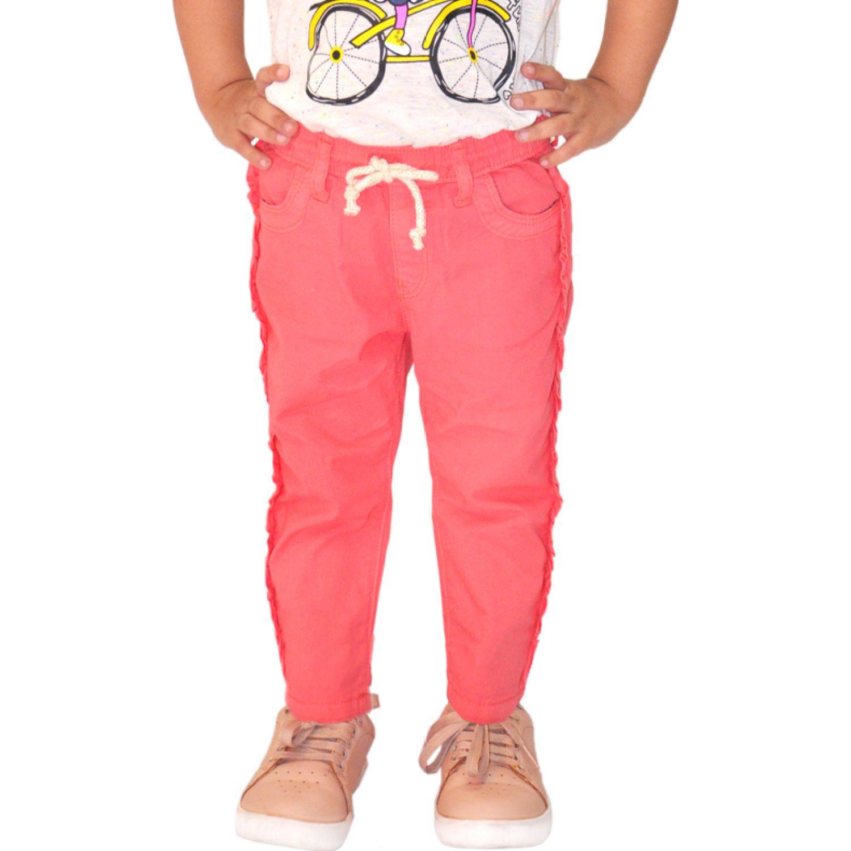 COTTONS JEANS Micaela Coral Pantalones