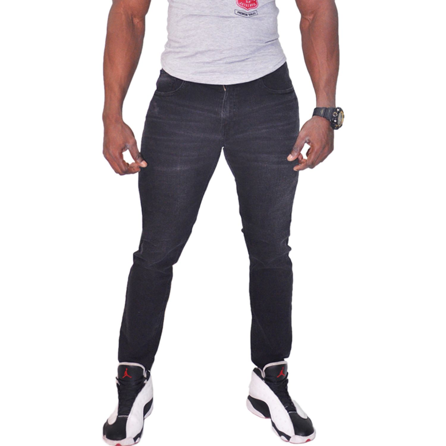 COTTONS JEANS Nahum Negro Casual