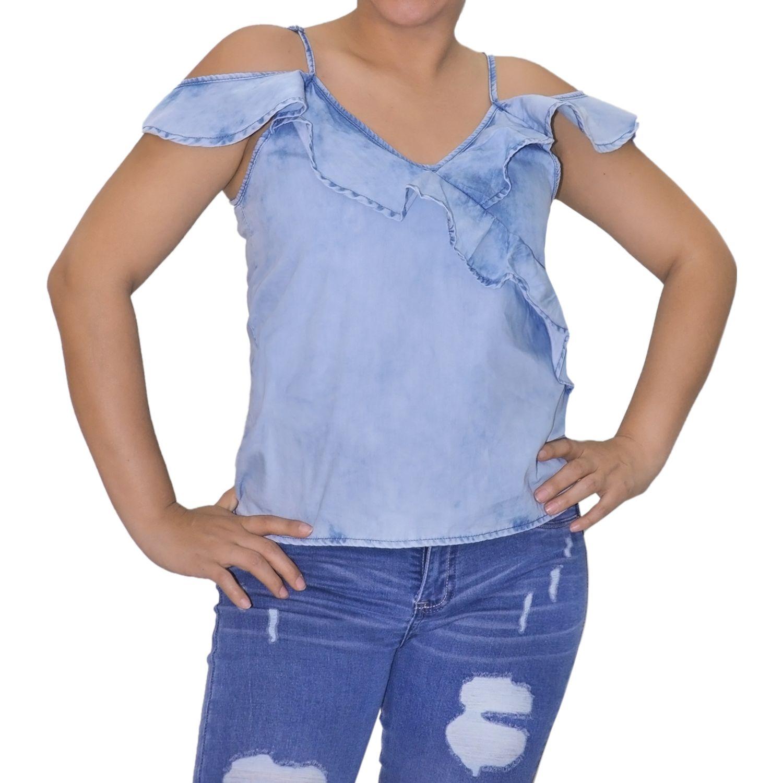 COTTONS JEANS Sara Ice Blusas y camisas de botones