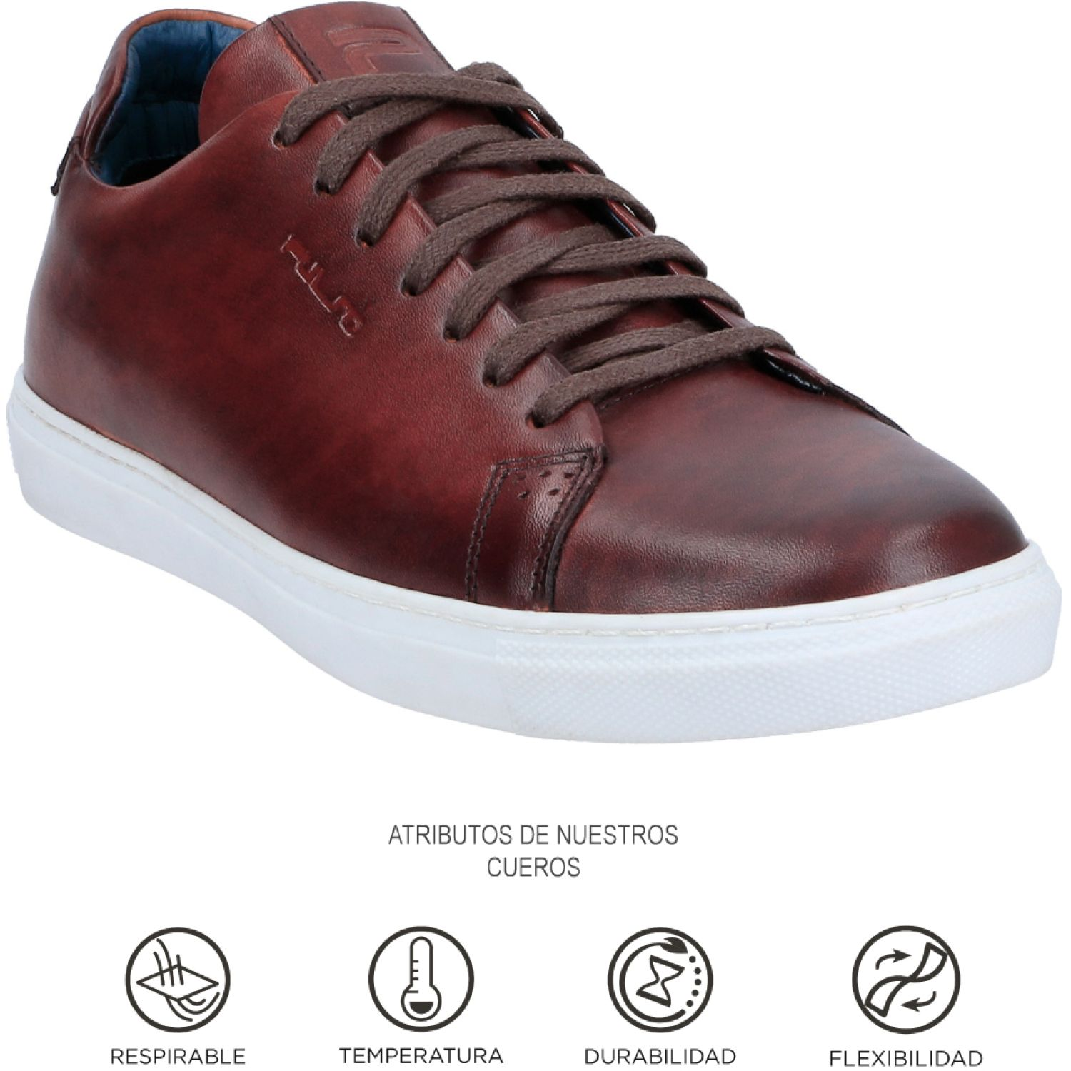 GUANTE GARDA Marron Oxfords