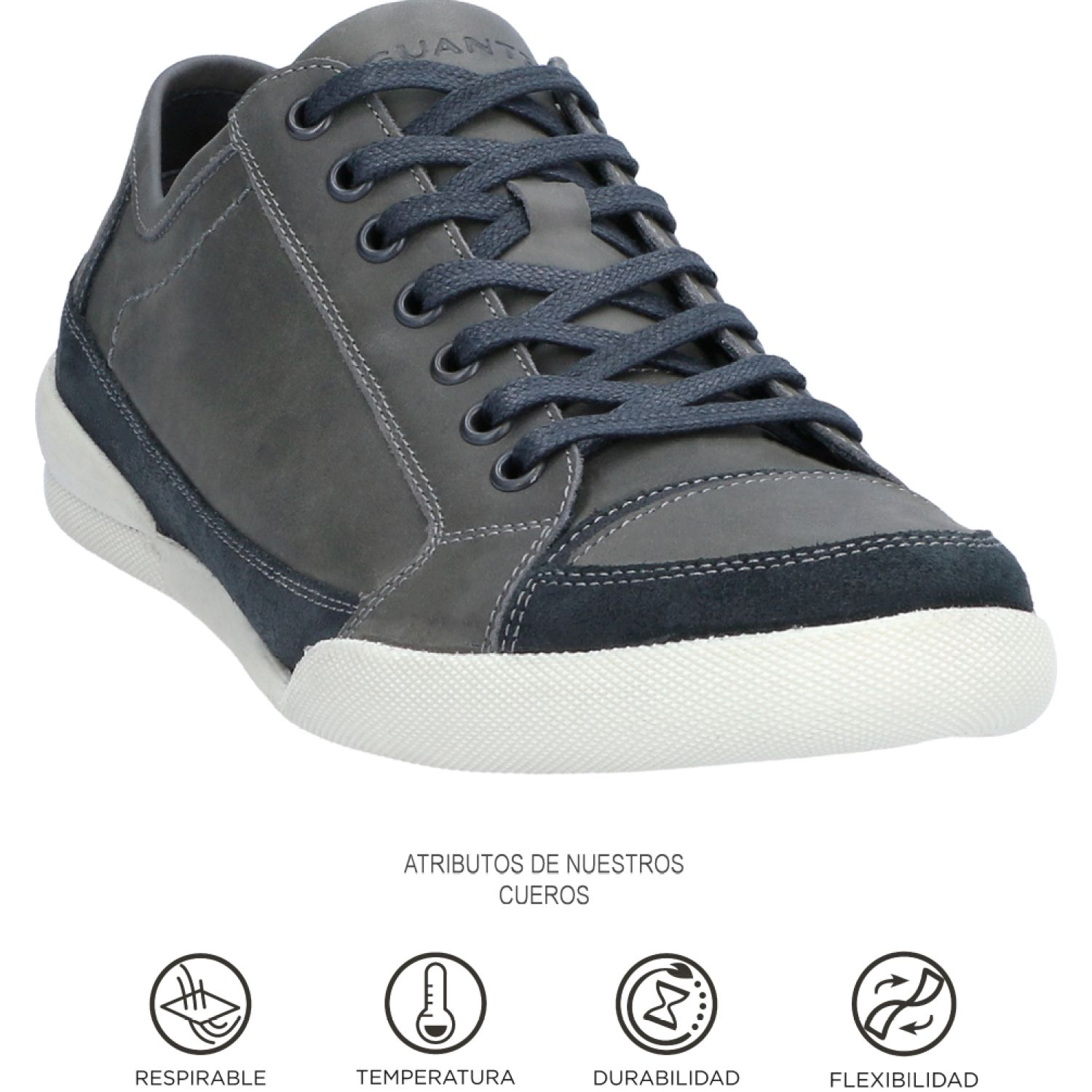 GUANTE Ottawa Grafito Oxfords