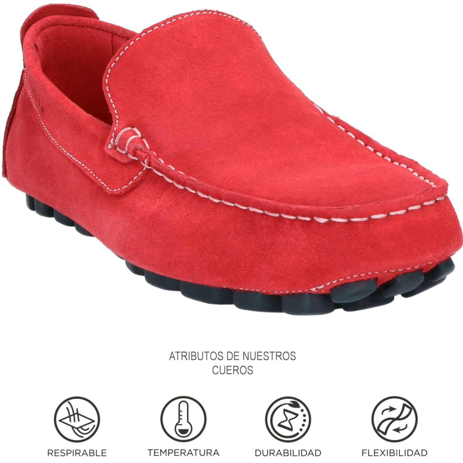 GUANTE SAINT TROPEZ Rojo Oxfords