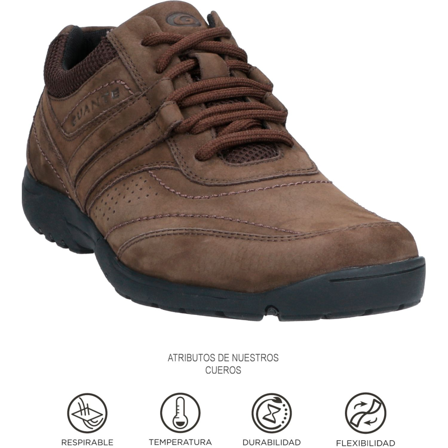 GUANTE Vancouver Chocolate Oxfords