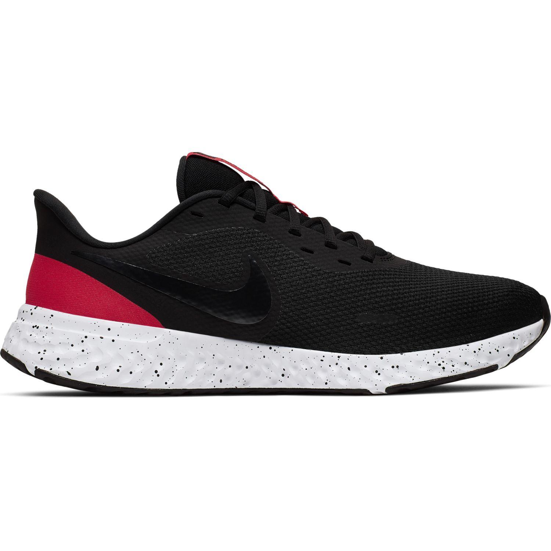 Nike nike revolution 5 Negro / rojo Running en pista