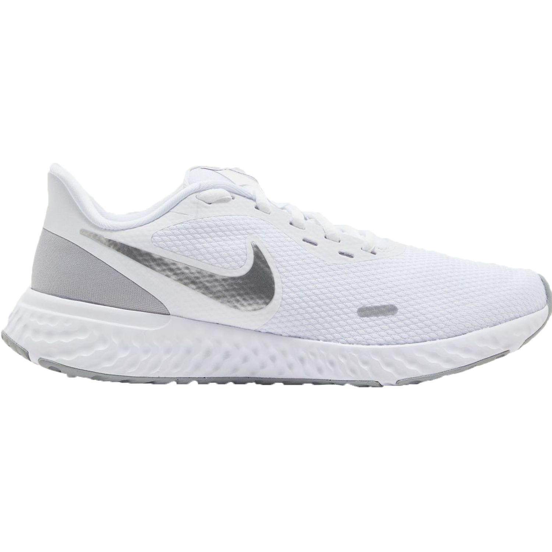 Nike wmns nike revolution 5 Blanco / gris Running en pista