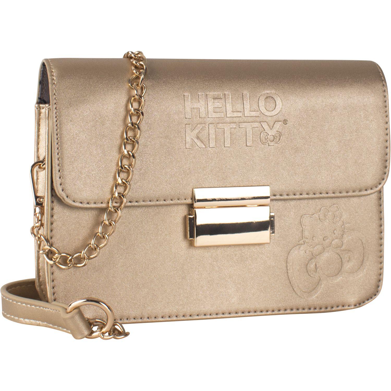 Hello Kitty Kitty 1211 Dorado Bolsos Cruza Cuerpos