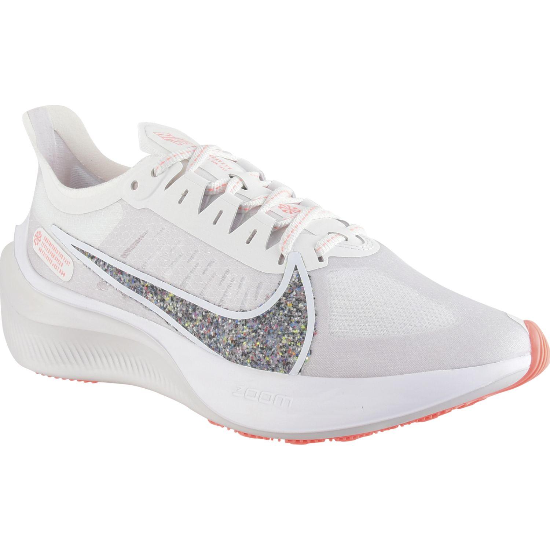 Nike wmns nike zoom gravity Gris / naranja Running en pista