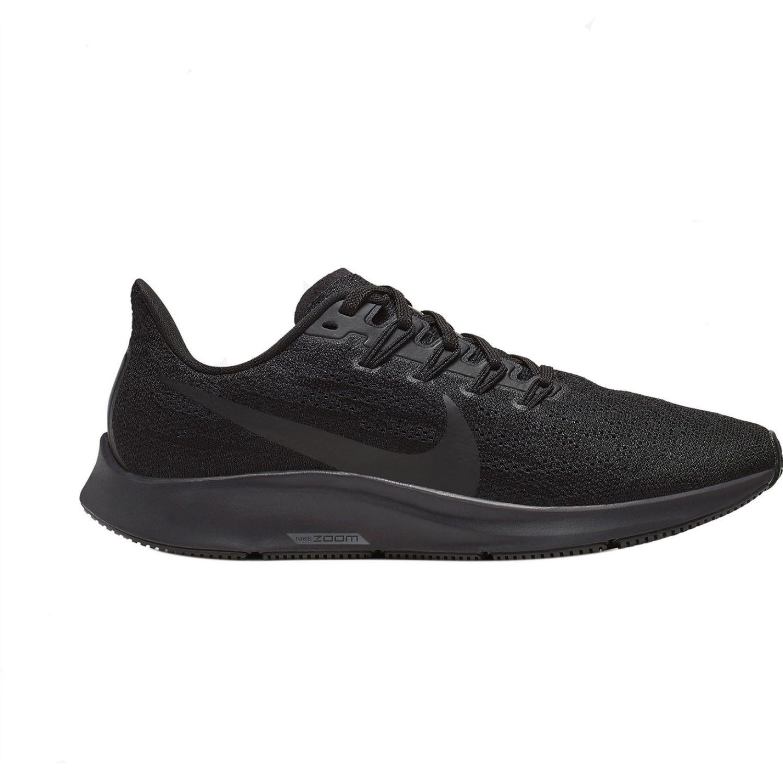 Nike wmns nike air zoom pegasus 36 Negro Running en pista