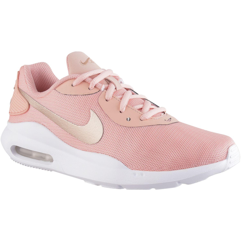 Nike Wmns Nike Air Max Oketo Rosado / blanco Walking