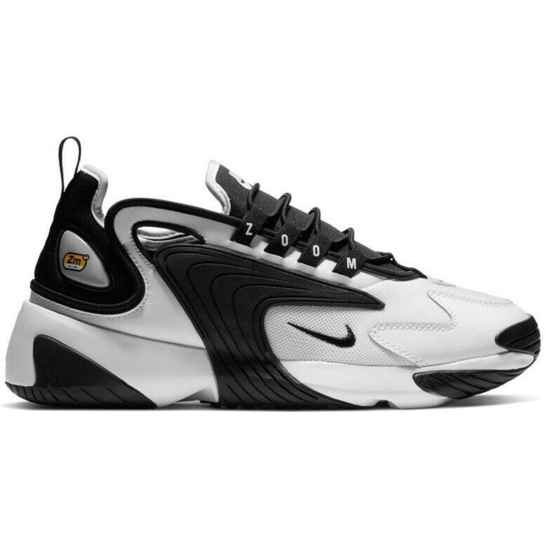 Nike NIKE ZOOM 2K Blanco / negro Walking | platanitos.com