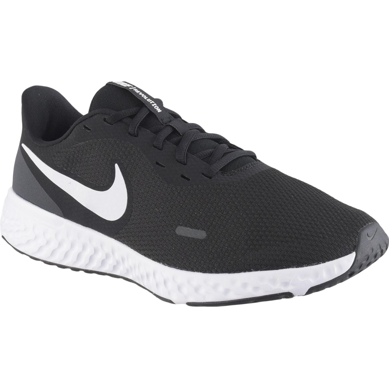 Nike nike revolution 5 (4e) Negro / blanco Running en pista