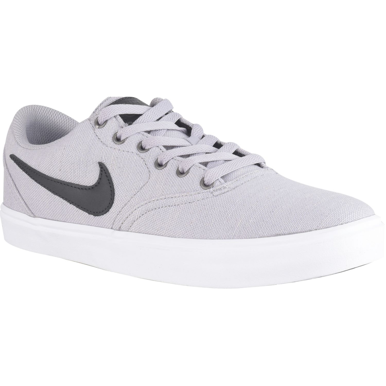 Nike nike sb check solar cnvs prm Gris / negro Walking