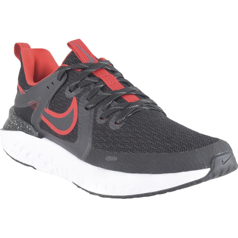 Nike Nike Legend React 2 Negro / rojo Correr por carretera