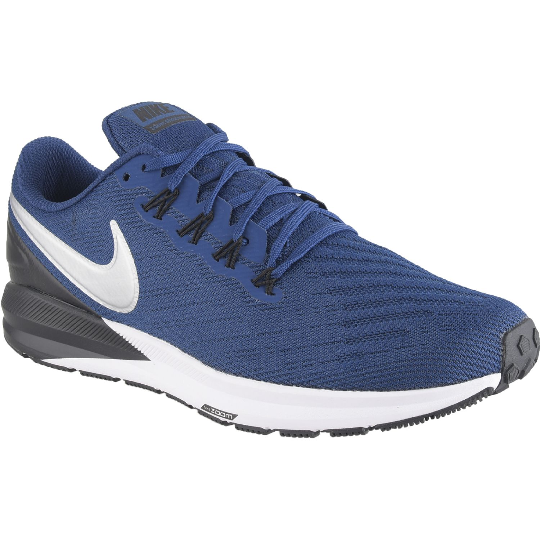 Nike nike air zoom structure 22 Navy / Gris Running en pista