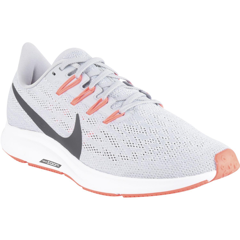 Nike nike air zoom pegasus 36 Gris / coral Running en pista