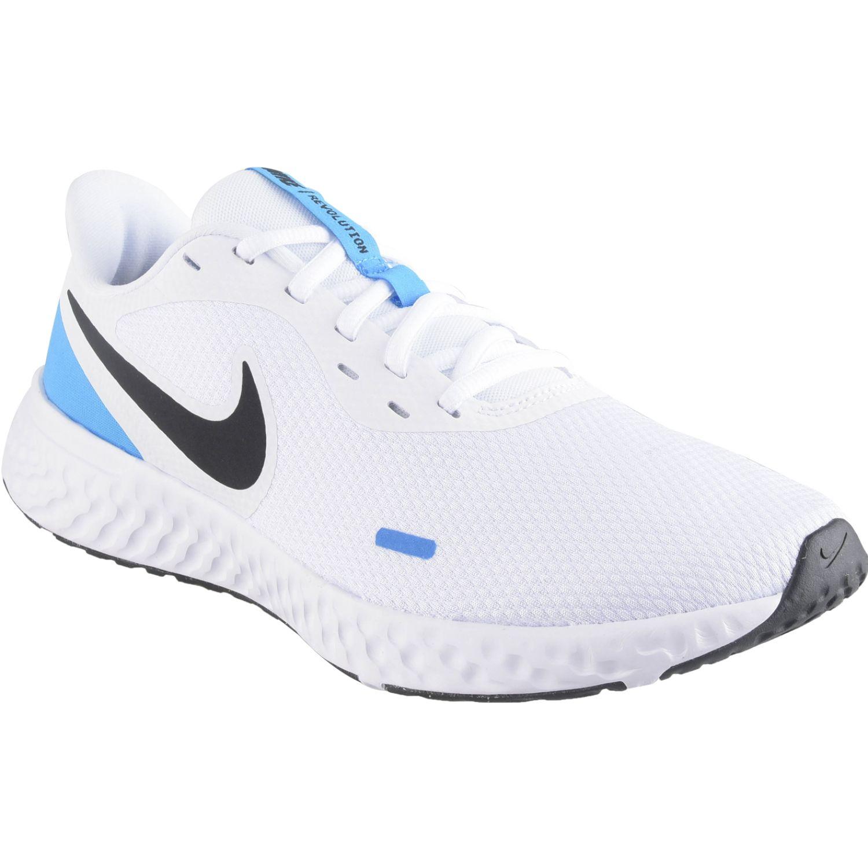 Nike nike revolution 5 Blanco / celeste Running en pista