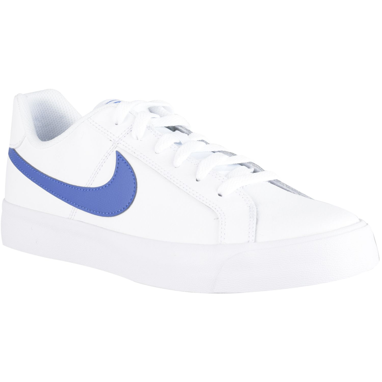 Nombre provisional judío evitar  Nike NIKE COURT ROYALE AC Blanco / azul Walking | platanitos.com
