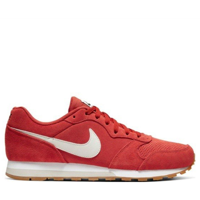 Nike nike md runner 2 suede Rojo / blanco Walking