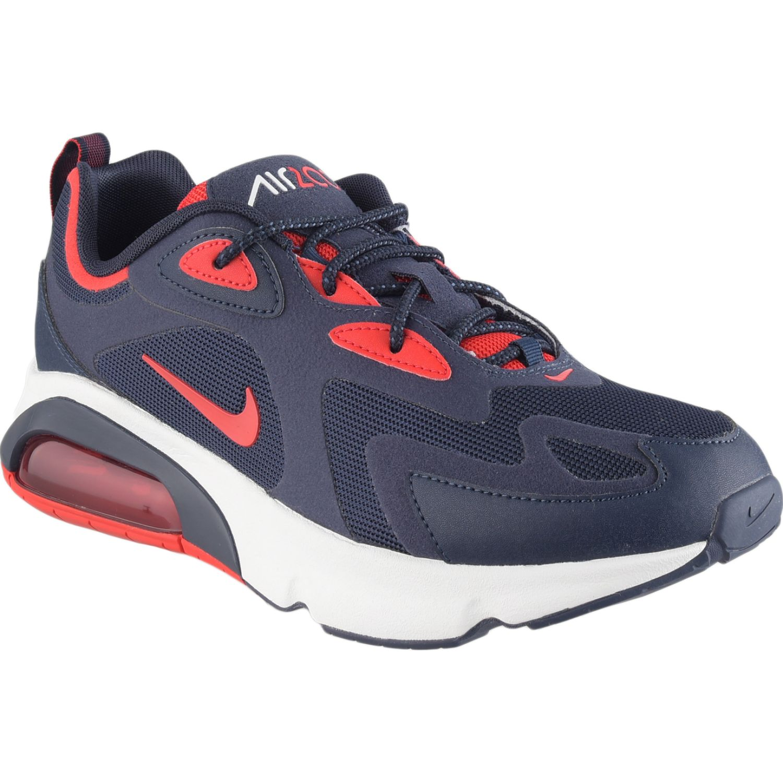 Nike AIR MAX 200 Azul / rojo Walking