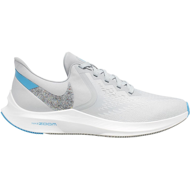 Nike nike zoom winflo 6 Gris / celeste Running en pista
