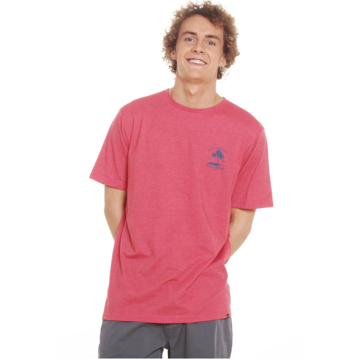 MAUI AND SONS Polera Mc 5p166-Mv20 Rojo Polos